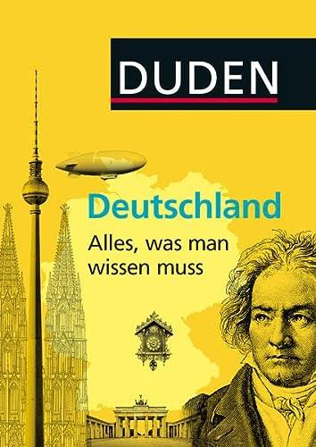 9783411748525: Duden Allgemeinbildung: Deutschland - Alles, was man wissen muss
