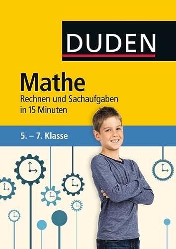 Mathe in 15 Minuten - Rechnen und: Salzmann, Wiebke