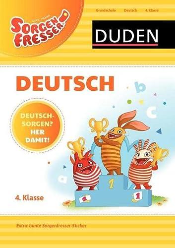 9783411761777: Sorgenfresser Deutsch 4. Klasse: Deutschsorgen? Her damit!