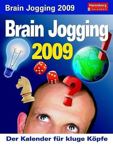 9783411801374: Harenberg IQ-Kalender Brain Jogging 2009: Der Kalender für kluge Köpfe