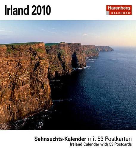 9783411804573: Irland 2010: Sehnsuchts-Kalender. 53 heraustrennbare Farbpostkarten