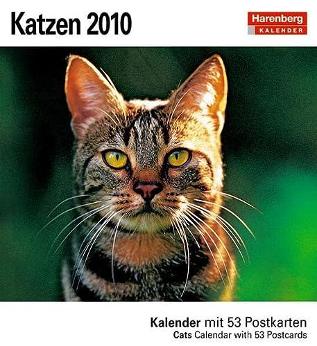 9783411805242: Katzen 2010: Kalender mit 53 heraustrennbaren Postkarten