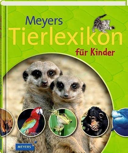 9783411808236: Meyers Tierlexikon für Kinder