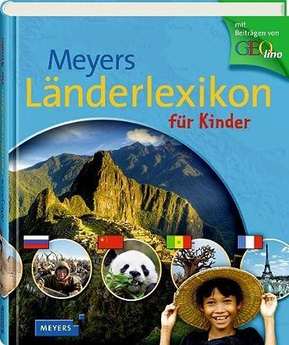 9783411808243: Meyers Länderlexikon für Kinder