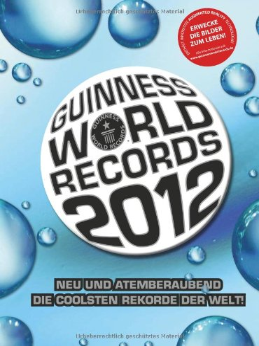 9783411808298: Guinness World Records 2012 German
