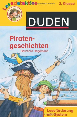 9783411808588: Lesedetektive - Piratengeschichten, 2. Klasse