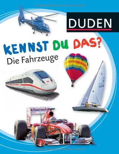 9783411809400: Die Fahrzeuge (German Edition)