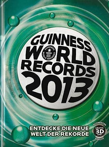 9783411812011: Guinness World Records Buch 2013