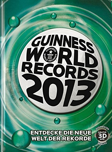 9783411812011: Guinness World Records Buch 2013
