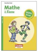 9783411860241: Richtig lernen 2. Klasse Mathe: Arbeitsheft mit Tests, Lösungen und Stickern