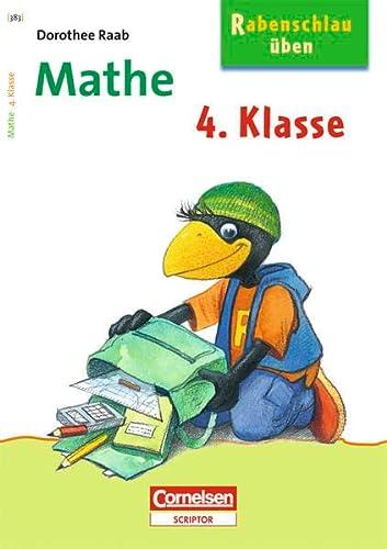 9783411860470: Rabenschlau üben. Mathe. 4. Schuljahr