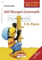 9783411860708: 200 Grammatik-Übungen 3./4. Schuljahr: Arbeitsbuch. Extra: Eltern-Leitfaden
