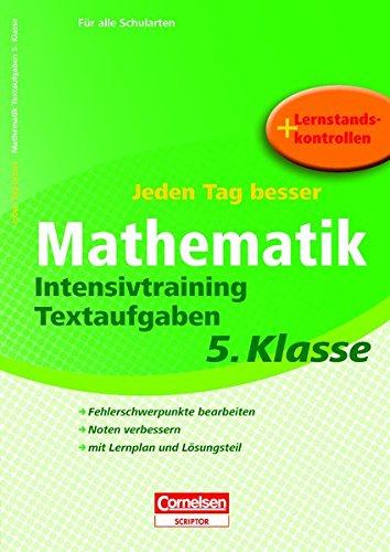 Jeden Tag besser Mathematik 5. Schuljahr -: Ursula Himmler