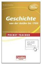 Geschichte Sekundarstufe I: Von der Antike bis 1789 (Cornelsen Scriptor - Pocket Teacher) - Liepach Martin