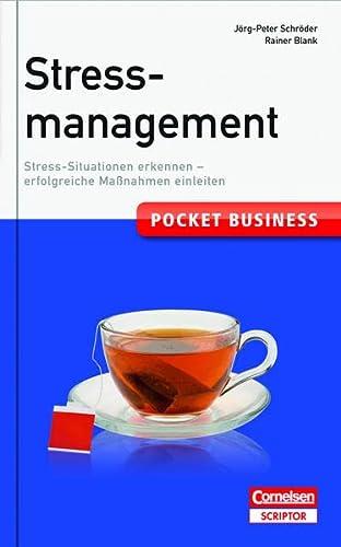 9783411863891: Stressmanagement: Stress-Situationen erkennen - erfolgreiche Maßnahmen einleiten