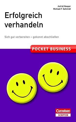 9783411871285: Pocket Business Erfolgreich verhandeln: Sich gut vorbereiten - gekonnt abschlie�en