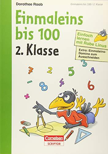 9783411871834: Einfach lernen mit Rabe Linus - Einmaleins bis 100 2. Klasse