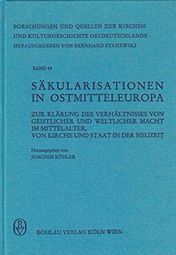 Säkularisationen in Ostmitteleuropa