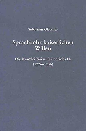 Sprachrohr kaiserlichen Willens: Sebastian Gleixner