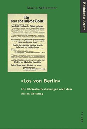 Los von Berlin«: Martin Schlemmer