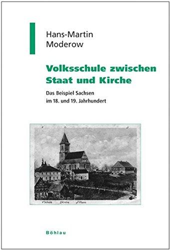 Volksschule zwischen Staat und Kirche: Hans-Martin Moderow