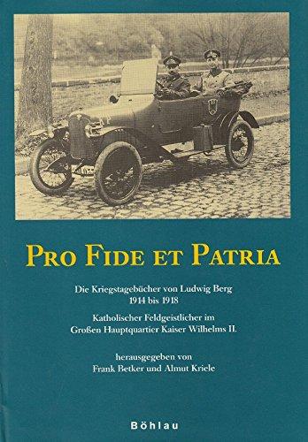 Pro Fide et Patria!: Frank Betker