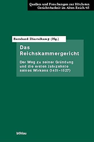 9783412127039: Das Reichskammergericht.