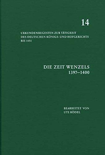 Die Zeit Wenzels (1397-1400)