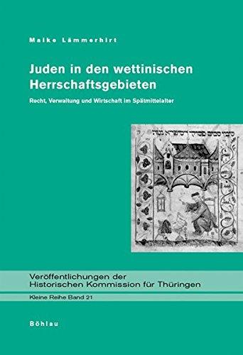 Juden in den wettinischen Herrschaftsgebieten: Maike Lämmerhirt