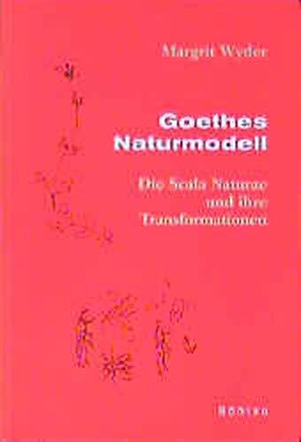 9783412132972: Goethes Naturmodell: Die Scala naturae und ihre Transformationen
