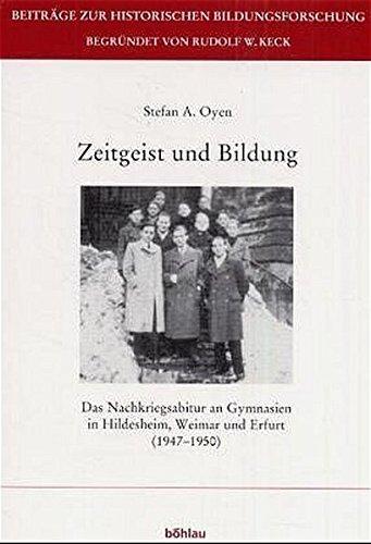 Zeitgeist und Bildung: Stefan A. Oyen