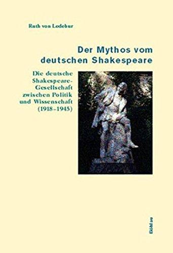 9783412141011: Der Mythos vom deutschen Shakespeare