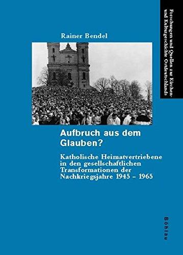Aufbruch aus dem Glauben?: Rainer Bendel