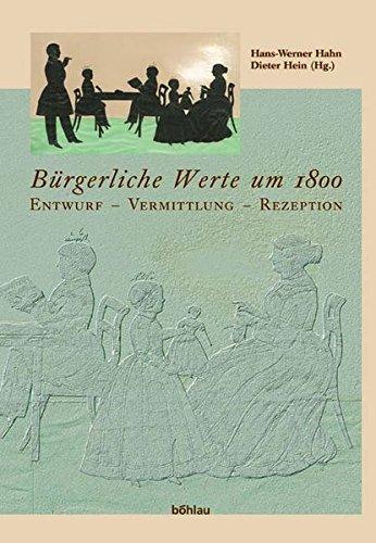 Bürgerliche Werte um 1800: Hans-Werner Hahn