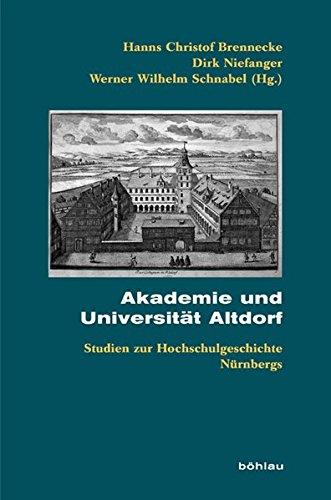 Akademie und Universität Altdorf: Hanns Christof Brennecke