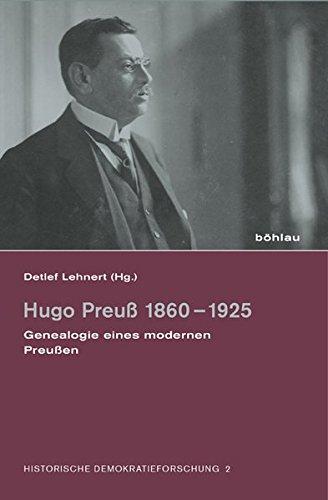 Hugo Preuß 1860-1925: Detlef Lehnert
