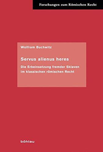 Servus alienus heres: Wolfram Buchwitz