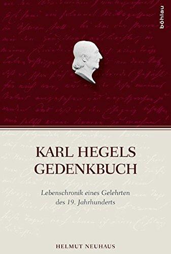 Karl Hegels Gedenkbuch: Helmut Neuhaus