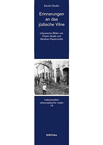 Erinnerungen an das jüdische Vilne: Sandra Studer