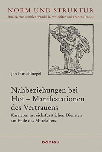 Nahbeziehungen bei Hof - Manifestationen des Vertrauens: Jan Hirschbiegel