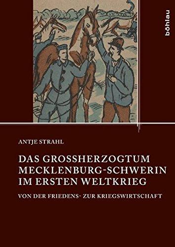 Das Großherzogtum Mecklenburg-Schwerin im Ersten Weltkrieg: Antje Strahl