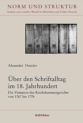 Über den Schriftalltag im 18. Jahrhundert: Alexander Denzler