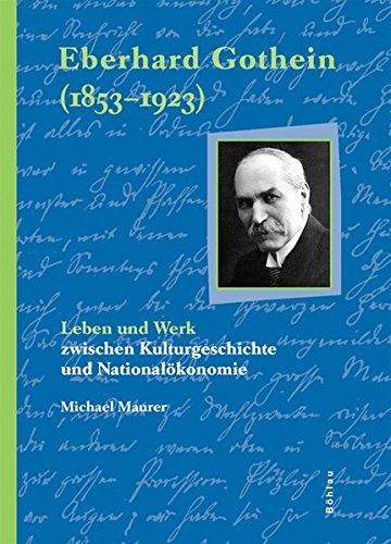9783412226060: Eberhard Gothein (1853-1923)