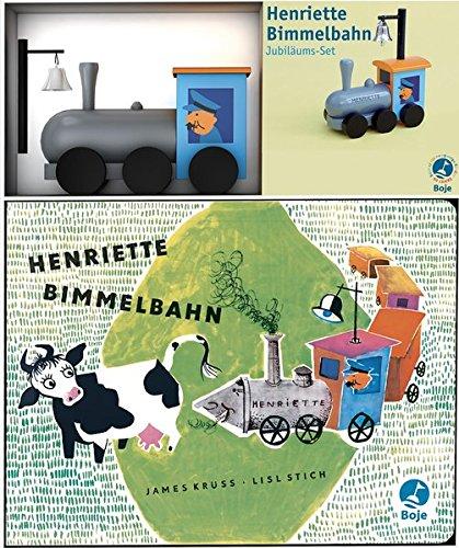 9783414821775: Henriette Bimmelbahn Jubiläums-Set: Holzeisenbahn