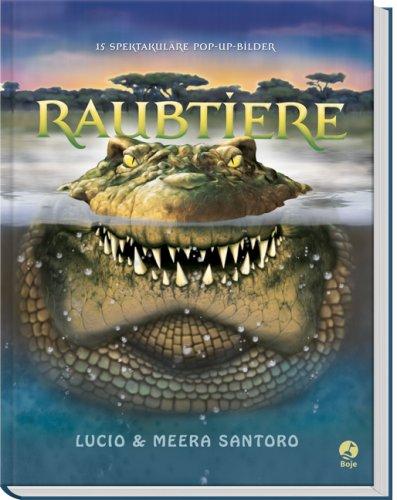 9783414822154: Raubtiere - Spektakuläre Pop-up-Bilder
