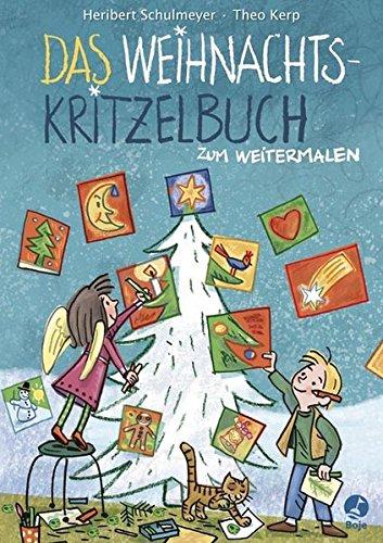 9783414823168: Das Weihnachts-Kritzelbuch zum Weitermalen