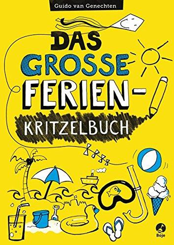 9783414823526: Das große Ferien-Kritzelbuch