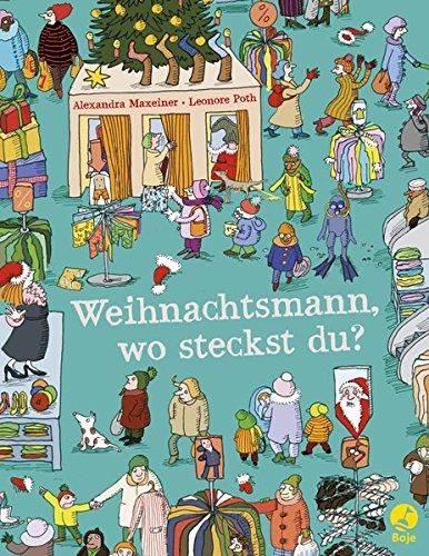 9783414823700: Weihnachtsmann, wo steckst du?: Ein Suchbilderbuch