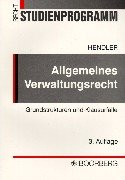 9783415027862: Allgemeines Verwaltungsrecht Grundstrukturen und Klausurfälle.
