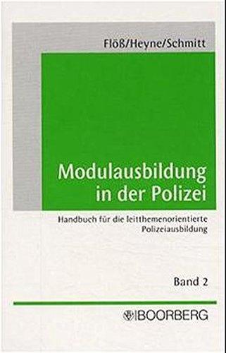 9783415028562: Modulausbildung in der Polizei